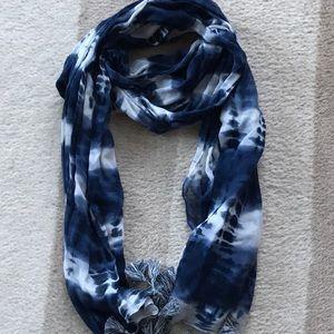 100% cotton tie dye scarf